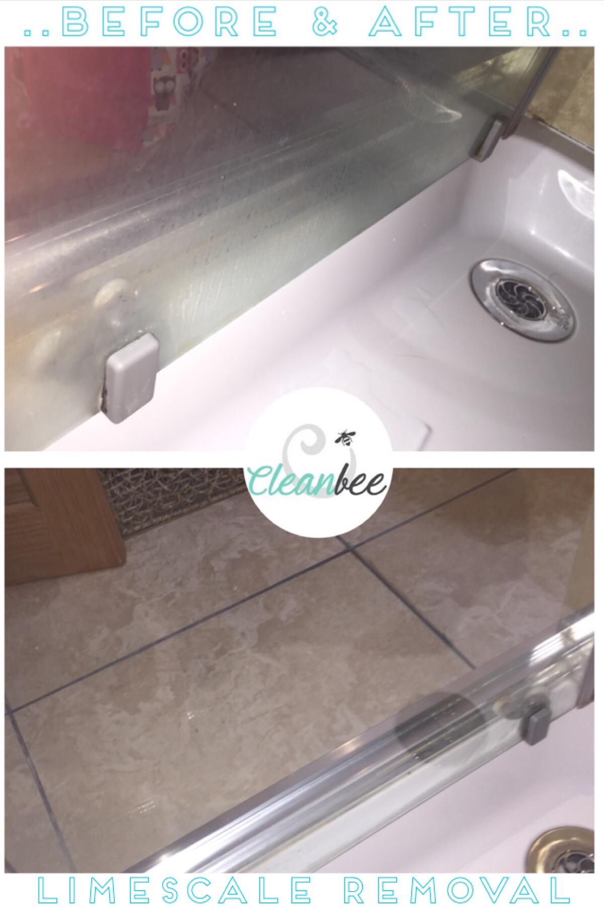 Removing limescale and water marks from your bathroom – Cleanbee ...