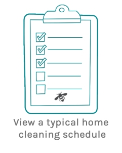 http://www.cleanbeewales.com/domestic-cleaning-schedule